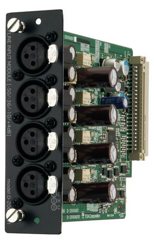 4-channel Microphone/Line Input Module