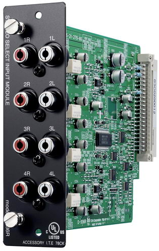 D-936R 4 stereo input module