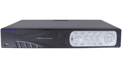 24-CH H-264 NETWORK DVR, VGA, 8-CH AUDIO, SUPPORT CALVIEW (NO NEED DDNS), 4CHS PLAYBACK